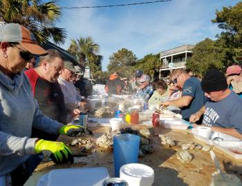 2019 Working Watermen's Oyster Roast and Shrimp Steam