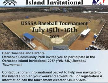 Ocracoke Community Park and Youth Center Baseball Tournament