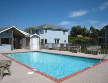 Ocracoke Vacation Rental with a Pool