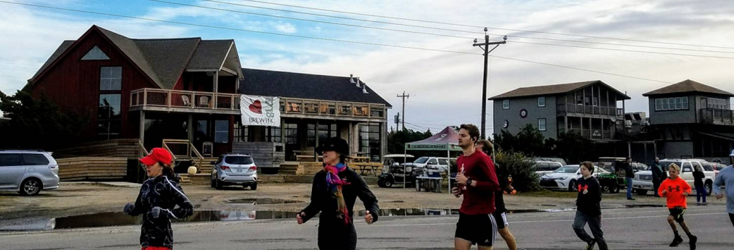 4th Annual, Unofficial 5K Turkey Trot  on Ocracoke