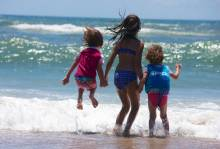 Ocracoke Island Beaches for Kids