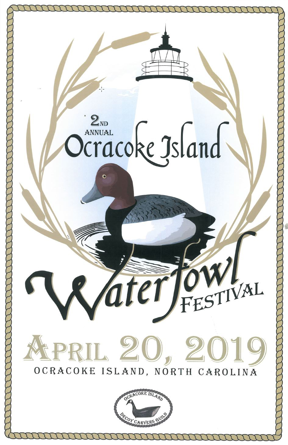 2nd Annual Ocracoke Island Waterfowl Festival